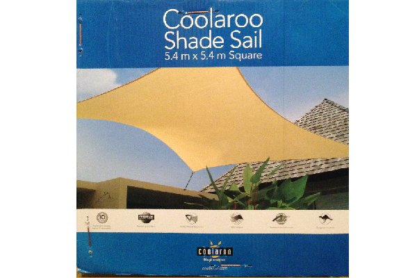 shade sail - voile d'ombrage triangulaire