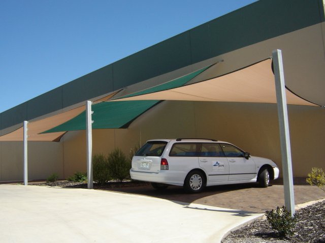 voile d'ombrage carrée - shade sail - protection uv