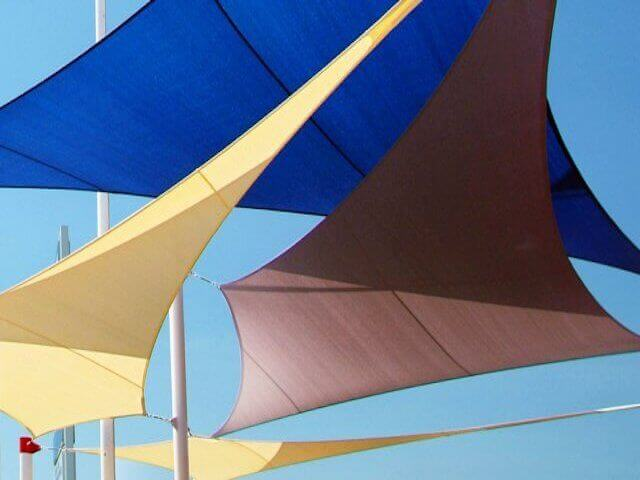 protection uv - shade sail -  protection solaire